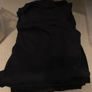 Black TC Lularoe Leggings - 7 Pairs